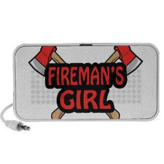 FIREMANS GIRL iPod SPEAKER