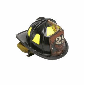 Fireman's helmet keychain acrylic cut out