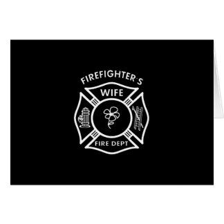 Fireman's Wife Stationery Note Card