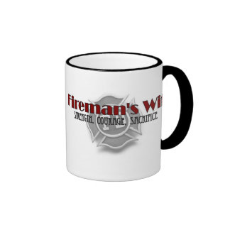 """Fireman's Wife"" Coffee Mug"