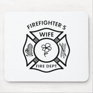 Fireman's Wife Mouse Pad