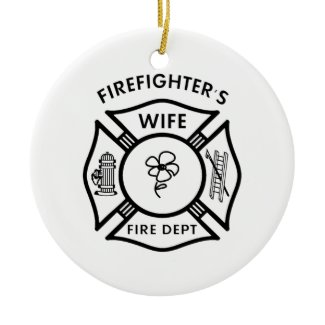 Fireman's Wife ornament