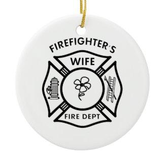 Fireman's Wife ornament