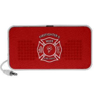 Fireman's Wife Notebook Speaker