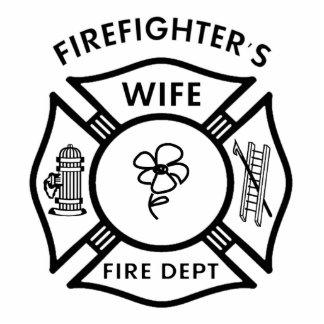 Fireman's Wife Statuette