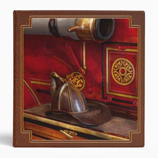 Firemen - An elegant job 3 Ring Binders