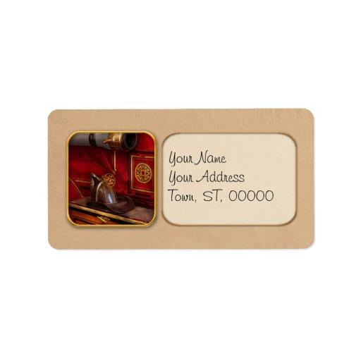 Firemen - An elegant job Custom Address Labels