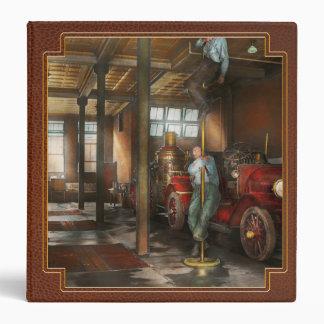 Firemen - Answering the firebell 1922 Binder