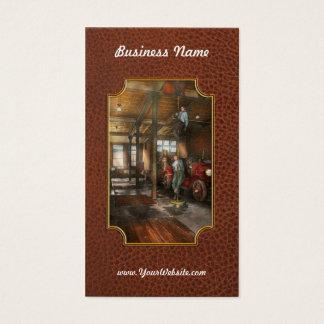 Firemen - Answering the firebell 1922 Business Card