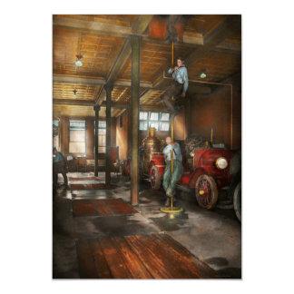 Firemen - Answering the firebell 1922 Card