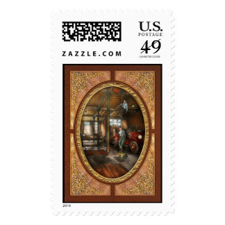 Firemen - Answering the firebell 1922 Stamp