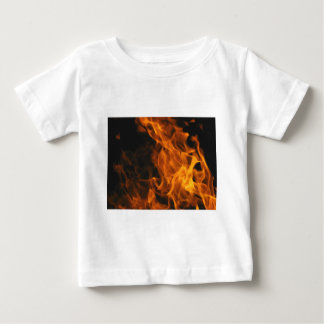 Firemen Flames Fire Peace Office Art Love Destiny Baby T-Shirt
