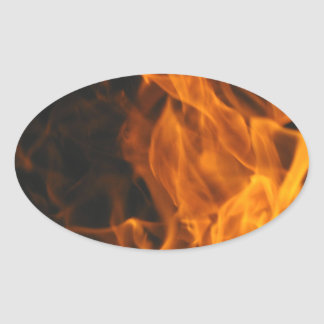 Firemen Flames Fire Peace Office Art Love Destiny Stickers