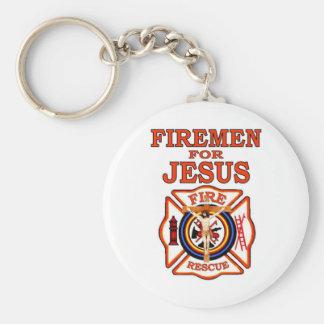 FIREMEN FOR JESUS KEYCHAIN