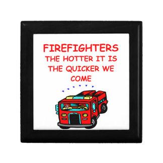 firemen keepsake boxes