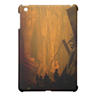 Firemen in the Rubble of the Twin Towers on 9/11 iPad Mini Cover