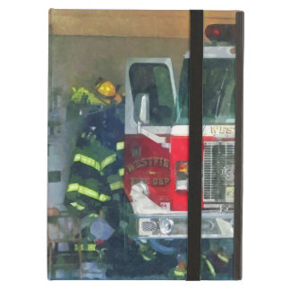 Firemen - Inside the Fire Station iPad Cases
