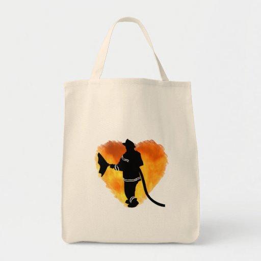 Firemen Love Flames Bag