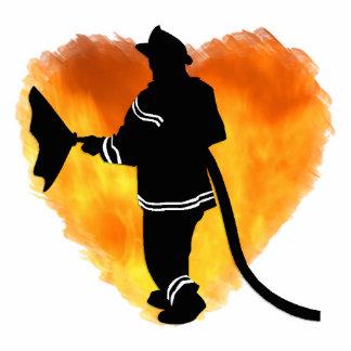 Firemen Love Flames Statuette