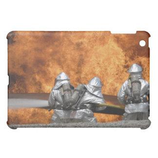 Firemen neutralize a fire iPad mini cases