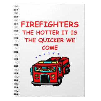 firemen notebooks