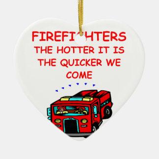 firemen ornaments