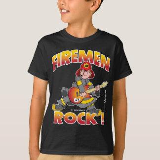FIREMEN ROCK black shirt.png T-Shirt