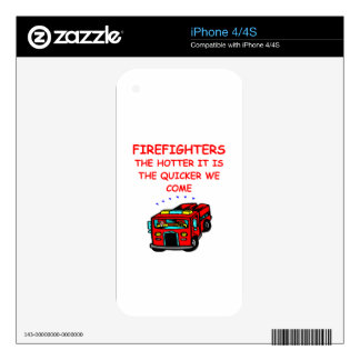 firemen decal for iPhone 4S