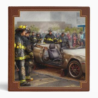 Firemen - The fire demonstration Binder