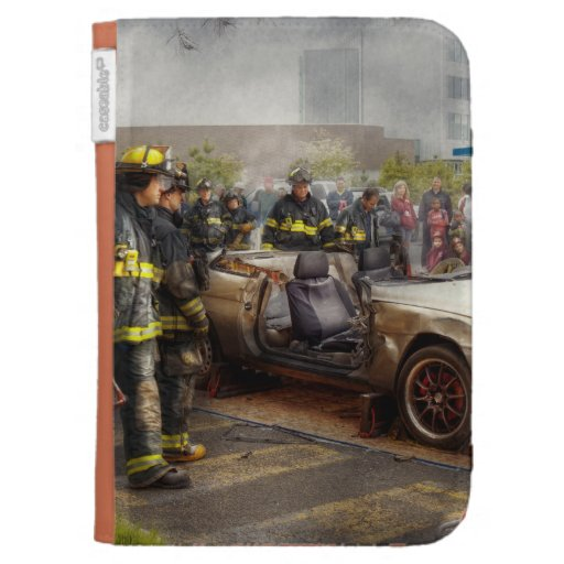 Firemen - The fire demonstration Kindle Covers