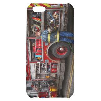 Firemen - The modern fire truck Case For iPhone 5C