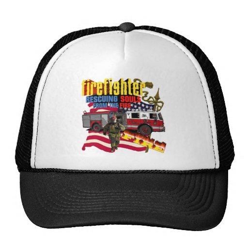 Firemen Trucker Hat