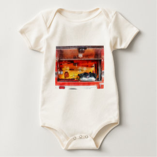 Firemen's Tools of the Trade Baby Bodysuit