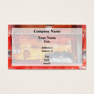 Firemen's Tools of the Trade Business Card