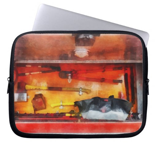 Firemen's Tools of the Trade Laptop Sleeves