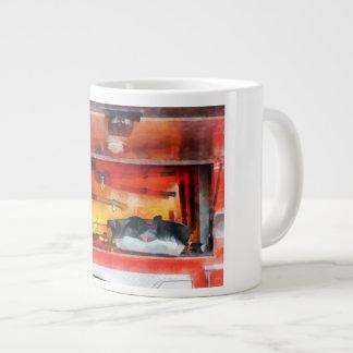 Firemen's Tools of the Trade Large Coffee Mug
