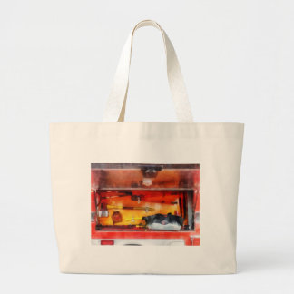 Firemen's Tools of the Trade Large Tote Bag