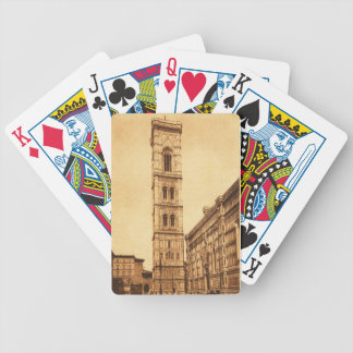 Firenze, Campanile di Giotto Bicycle Playing Cards