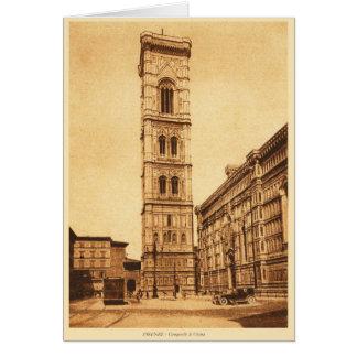 Firenze, Campanile di Giotto Card