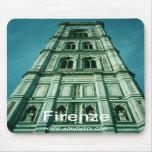 Firenze Campanile View Mousepad