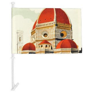 Firenze Car Flag