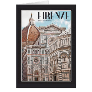 Firenze Duomo Stationery Note Card