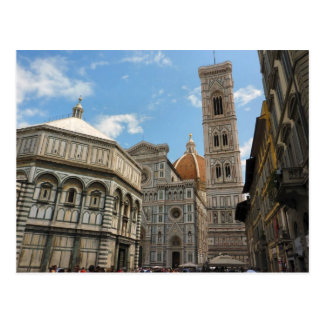 Firenze Duomo - Cathedral Postcard