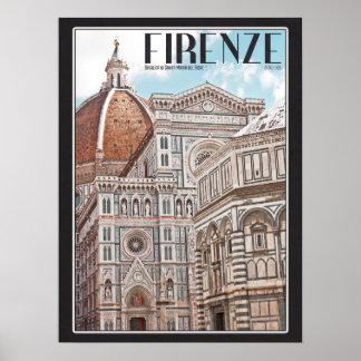 Firenze Duomo Poster