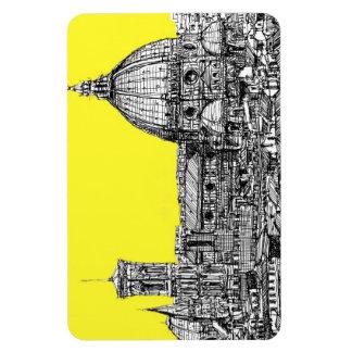 Firenze en amarillo amarillo imán