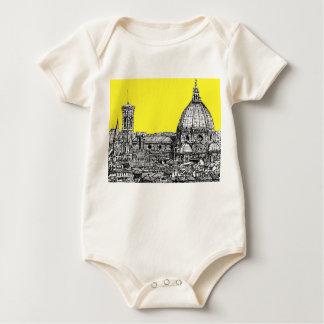 Firenze en amarillo amarillo mameluco