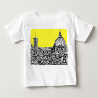 Firenze en amarillo amarillo playeras
