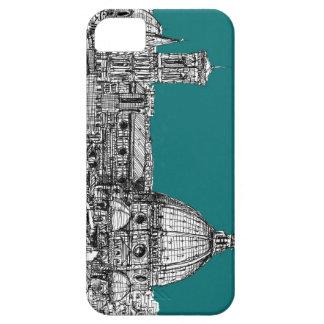 Firenze en turquesa iPhone 5 fundas
