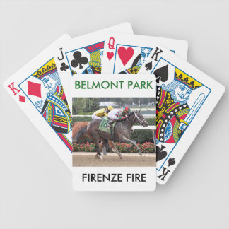Firenze Fire Irad Ortiz Jr Bicycle Playing Cards