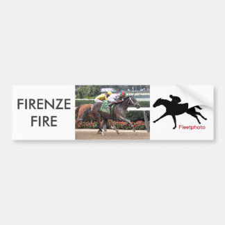 Firenze Fire Irad Ortiz Jr Bumper Sticker